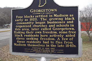 Georgetown historic marker