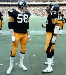 Jack Lambert and Mean Joe Green