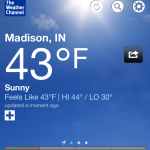 weather in madison