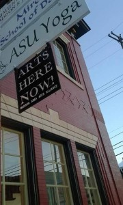 arts here now